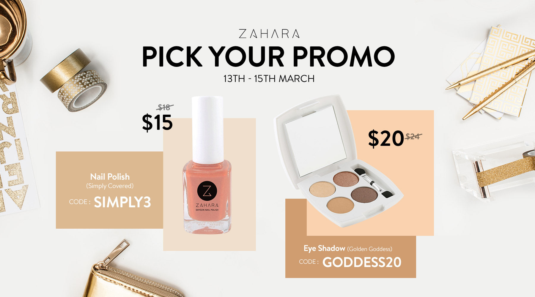 Pick Your Promo 13 March