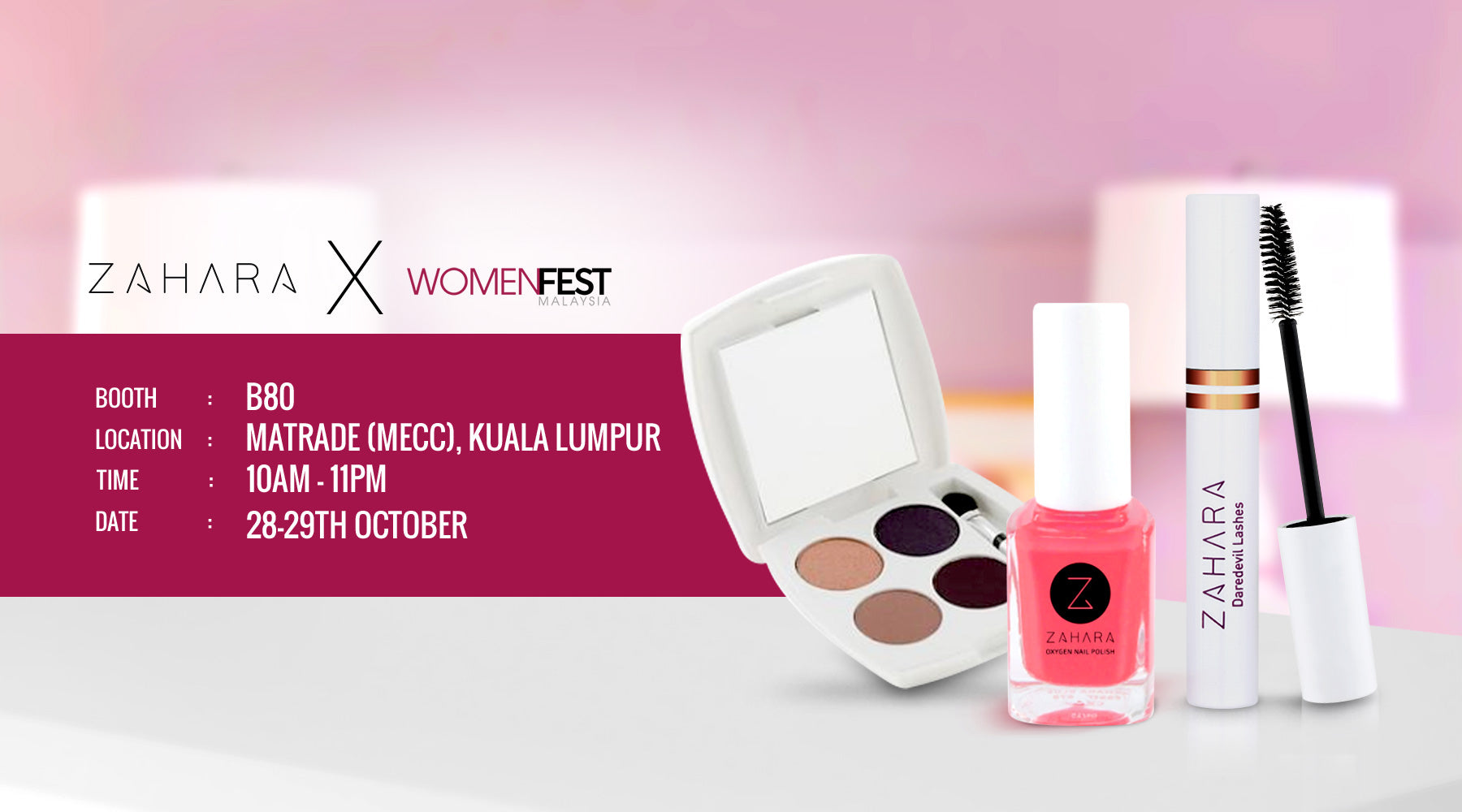 Join us at Women Fest Malaysia 28-29 October 2017