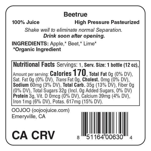 Beetrue 12 fl oz