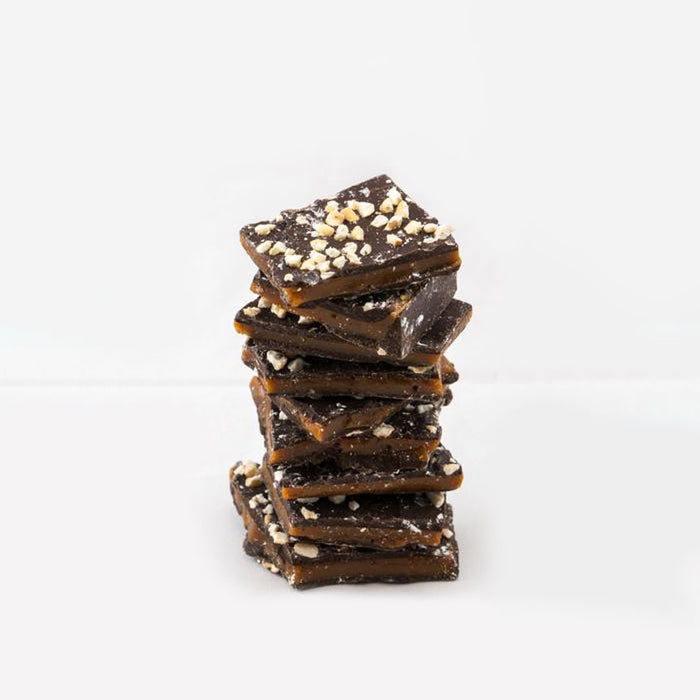 70% Belgian Dark Chocolate Buttercrunch