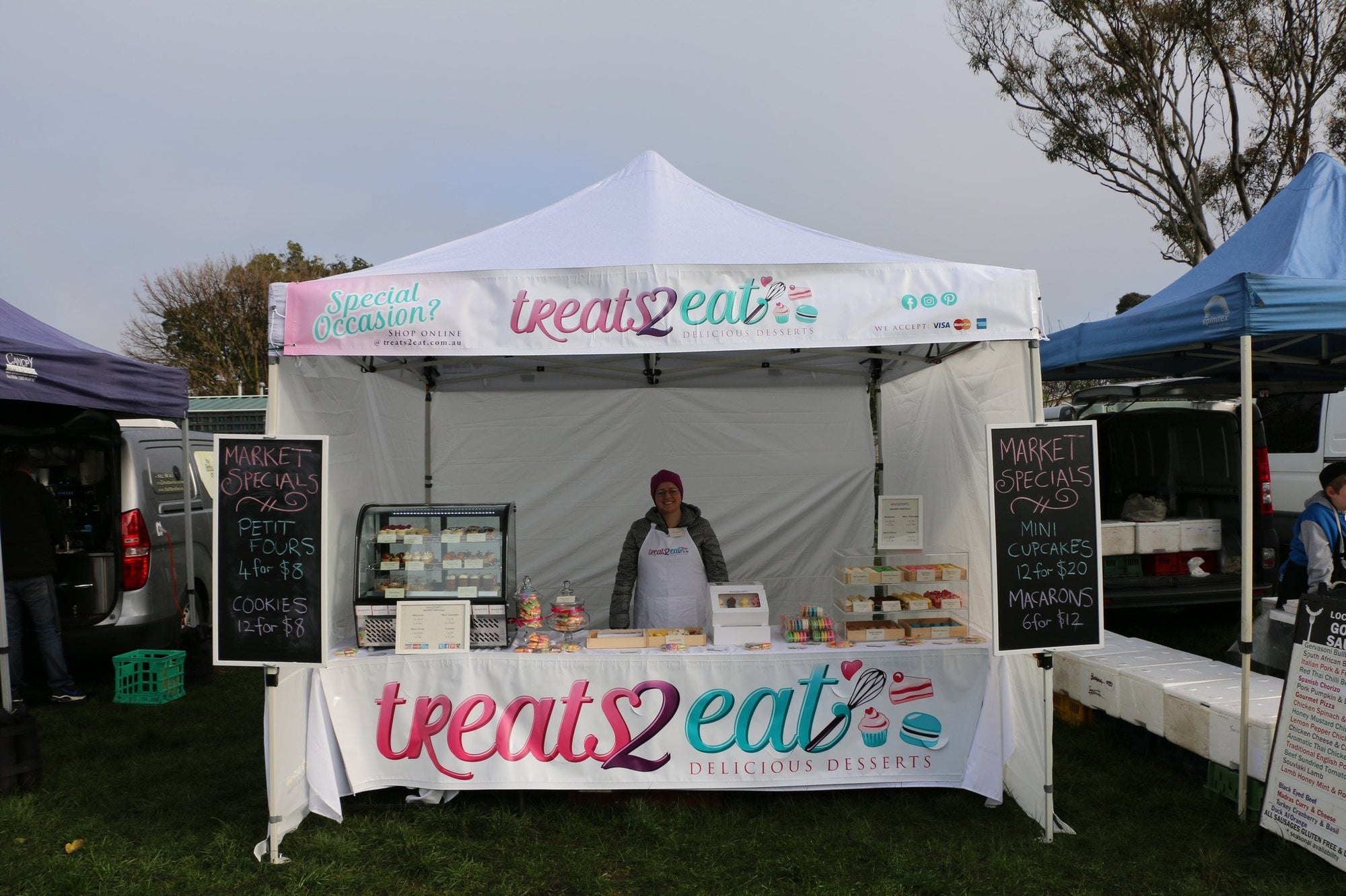 Treats2eat @ Lardner Park Craft Market - 23/4/17