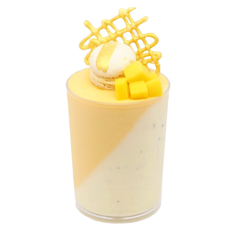 Dessert Cup - Mango Panna Cotta - Treats2eat - Wedding & Birthday Party Dessert Catering Near Me