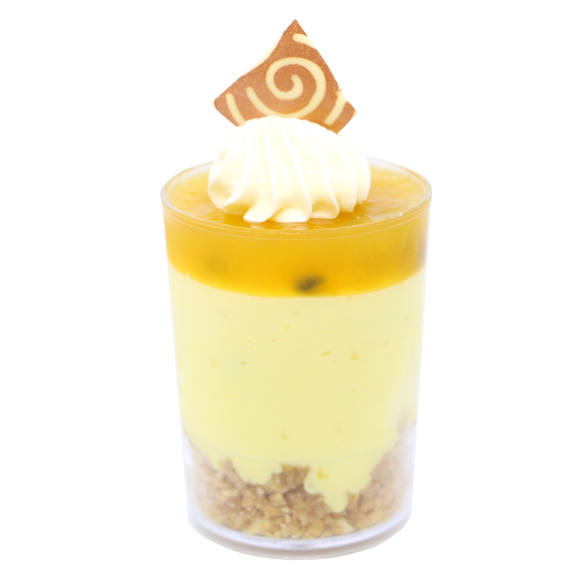 Dessert Cup - Passionfruit Cheesecake - Treats2eat - Wedding & Birthday Party Dessert Catering Near Me