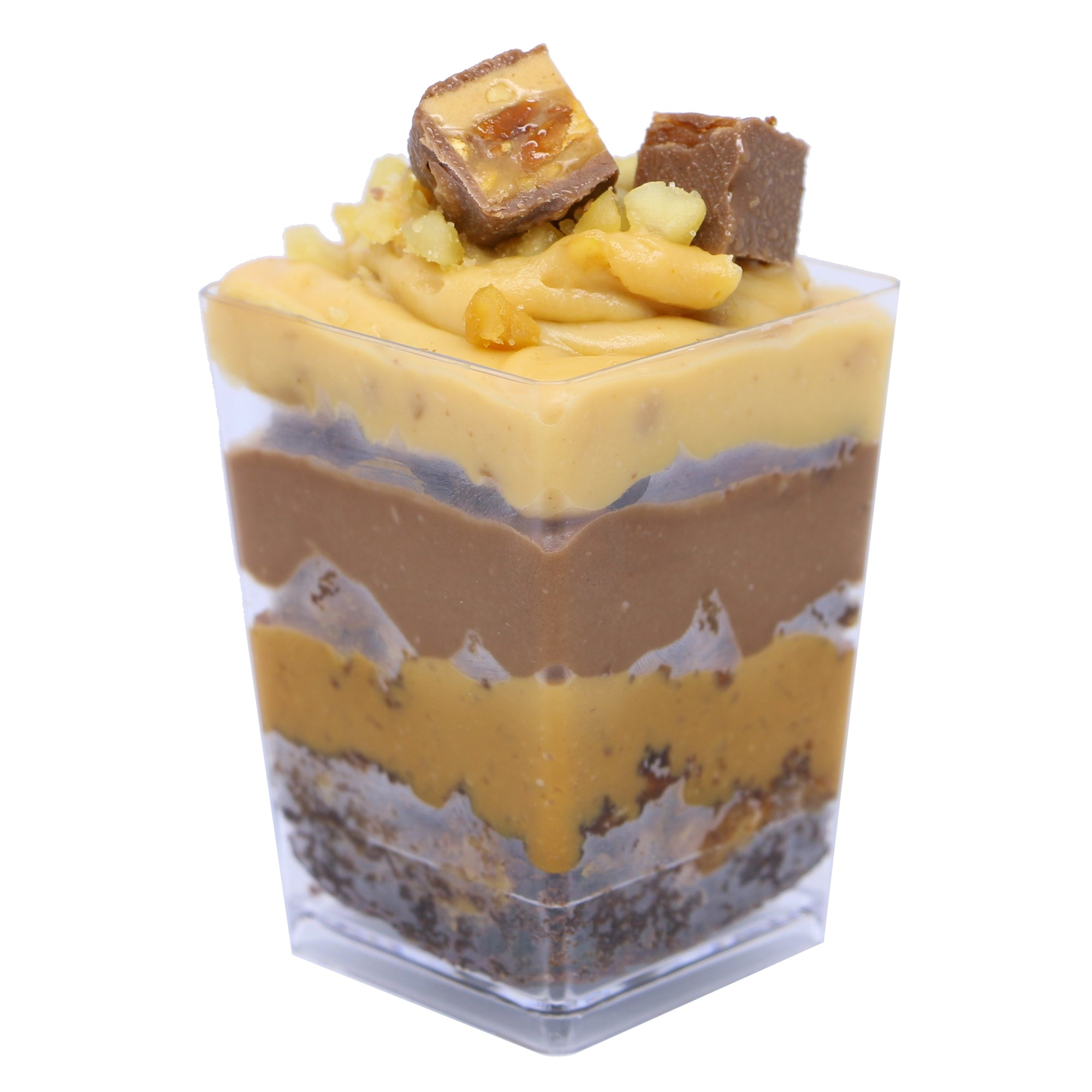 Dessert Cup - Snickers - Treats2eat - Wedding & Birthday Party Dessert Catering Near Me