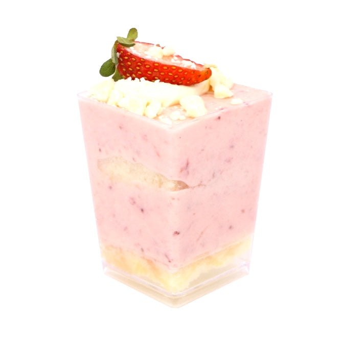 Dessert Cup - Strawberry Mousse Trifle - Treats2eat - Wedding & Birthday Party Dessert Catering Near Me