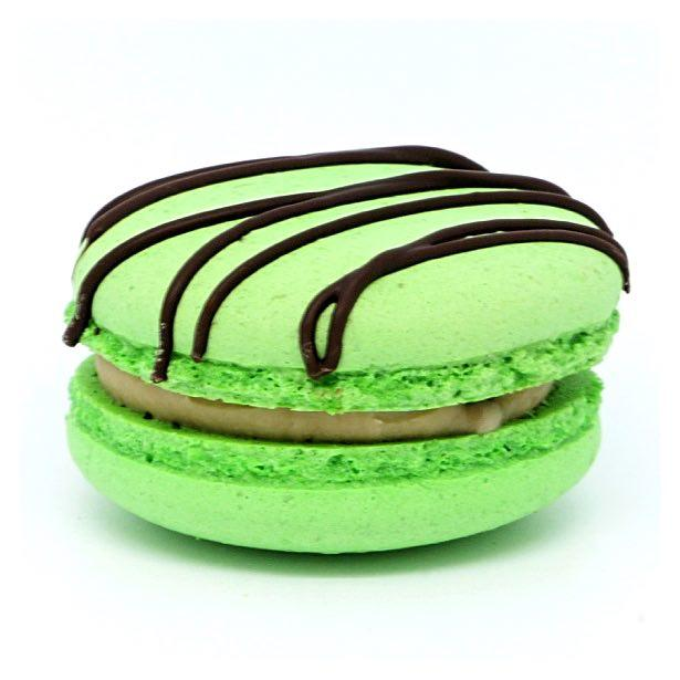 Macaron - Choc Mint - Treats2eat - Wedding & Birthday Party Dessert Catering Near Me