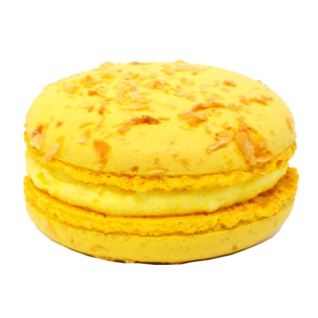 Macaron - Lemon & Coconut - Treats2eat - Wedding & Birthday Party Dessert Catering Near Me