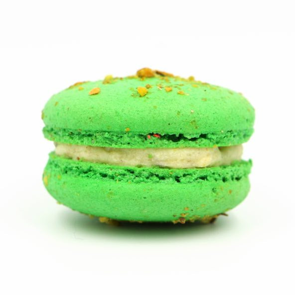 Macaron - Pistachio - Treats2eat - Wedding & Birthday Party Dessert Catering Near Me