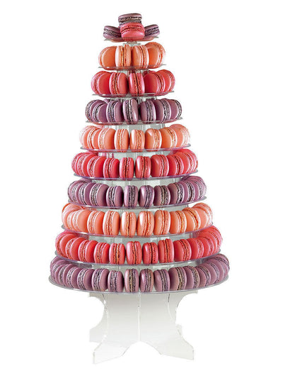 Macaron Acrylic Stand - Hire - Treats2eat - Wedding & Birthday Party Dessert Catering Near Me