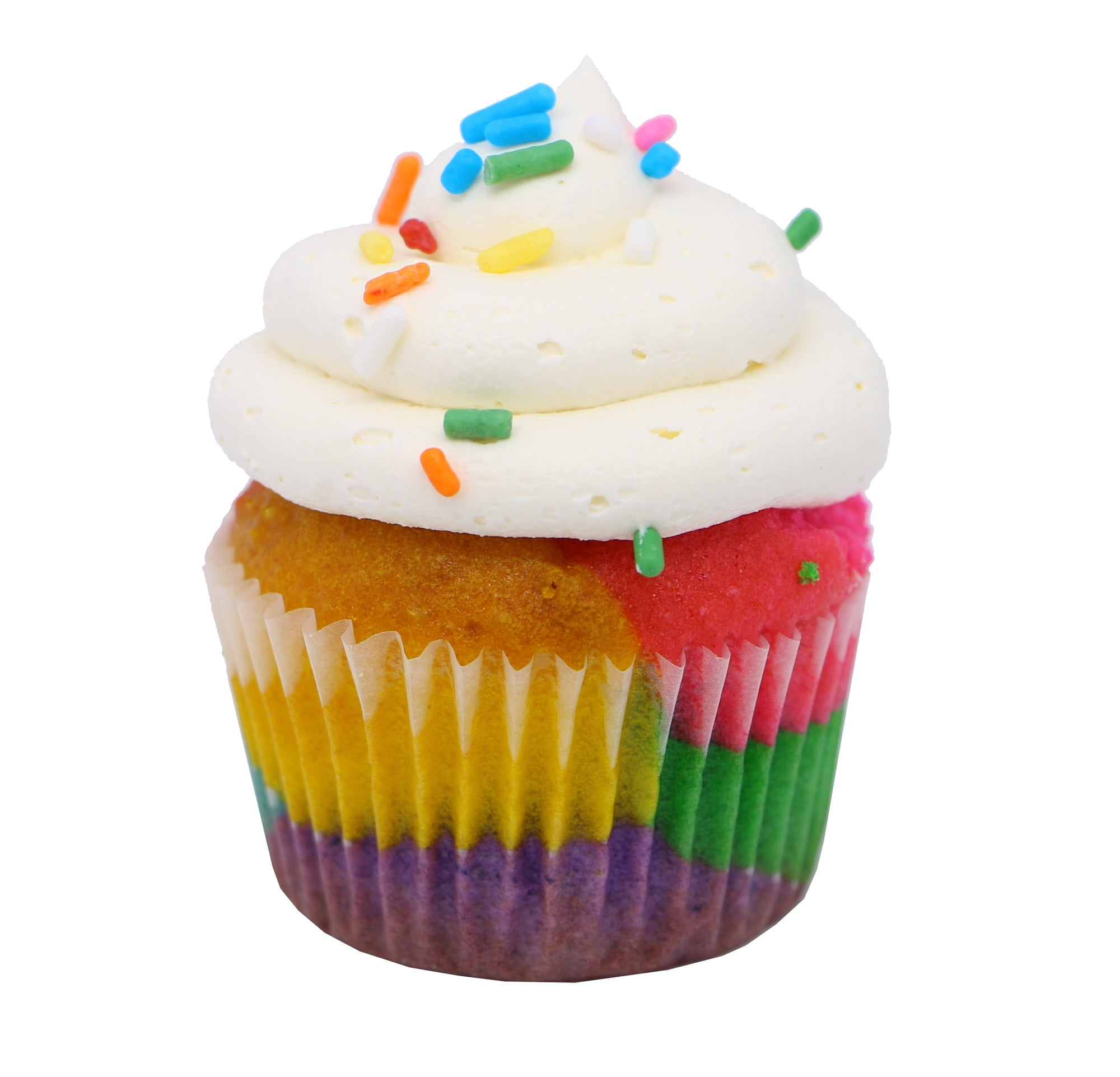 Mini Cupcake - Rainbow - Treats2eat - Wedding & Birthday Party Dessert Catering Near Me