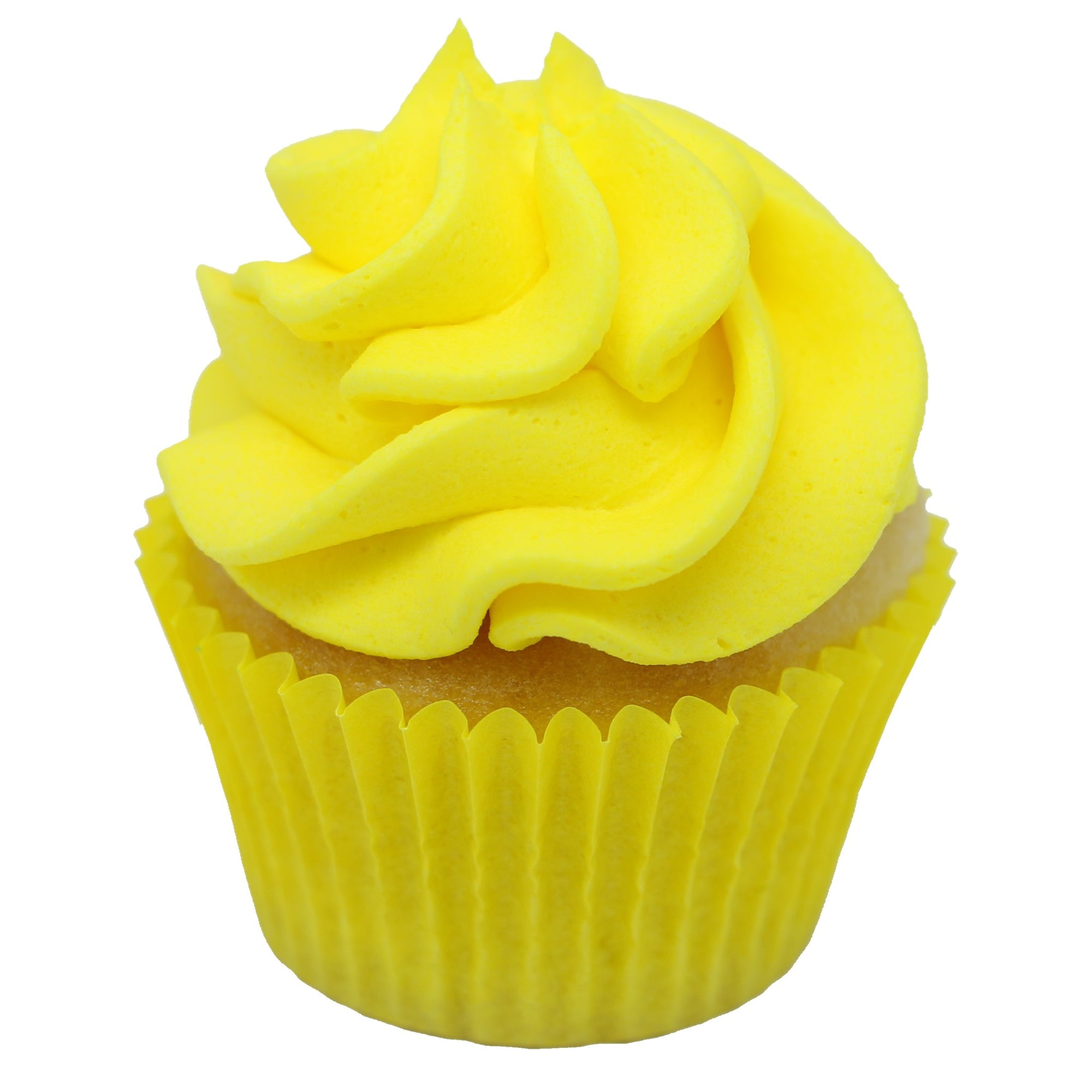 Mini Cupcake - Yellow - Treats2eat - Wedding & Birthday Party Dessert Catering Near Me