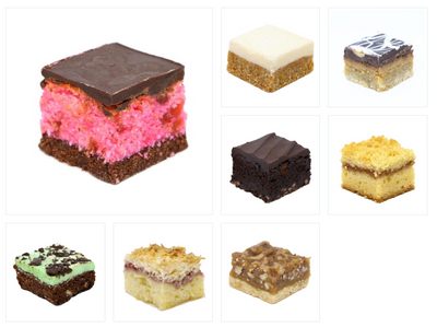 Mini Slices Catering Pack (15 or 30 guests) - Treats2eat - Wedding & Birthday Party Dessert Catering Near Me