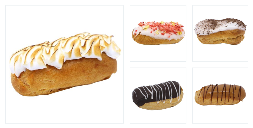 Mini Eclair Catering Pack A (20, 30, 40 or 50 guests) - Treats2eat - Wedding & Birthday Party Dessert Catering Near Me