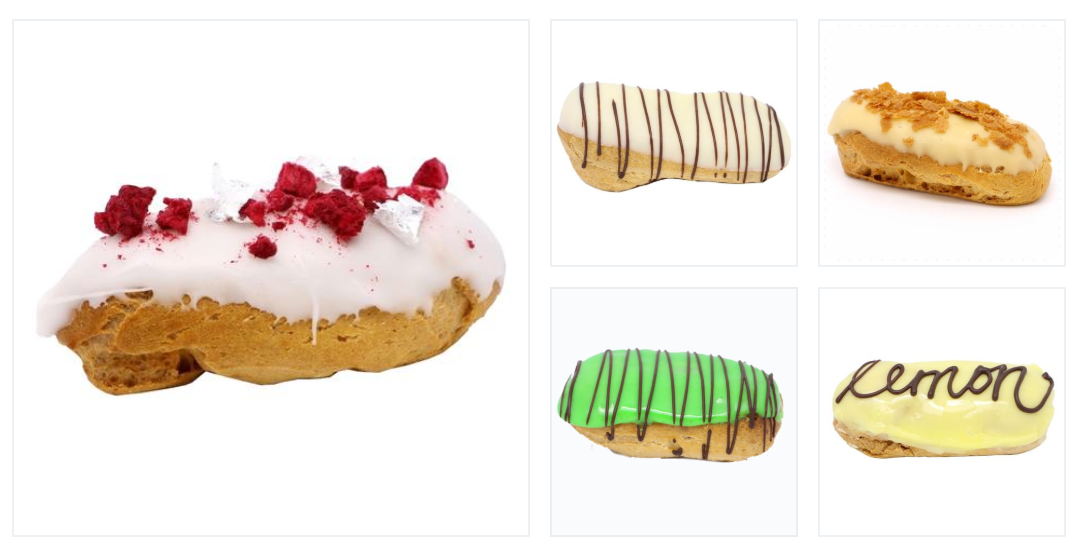 Mini Eclair Catering Pack B (20, 30, 40 or 50 guests) - Treats2eat - Wedding & Birthday Party Dessert Catering Near Me
