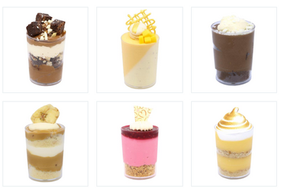 Dessert Cup Catering Pack C (30, 45 or 60 guests) - Treats2eat - Wedding & Birthday Party Dessert Catering Near Me