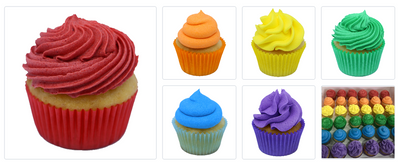 Mini Cupcake Catering Pack (20 or 30 guests) - Treats2eat - Wedding & Birthday Party Dessert Catering Near Me