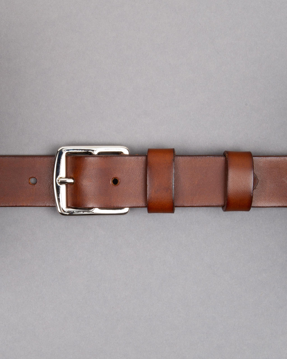 Saddle leather belt