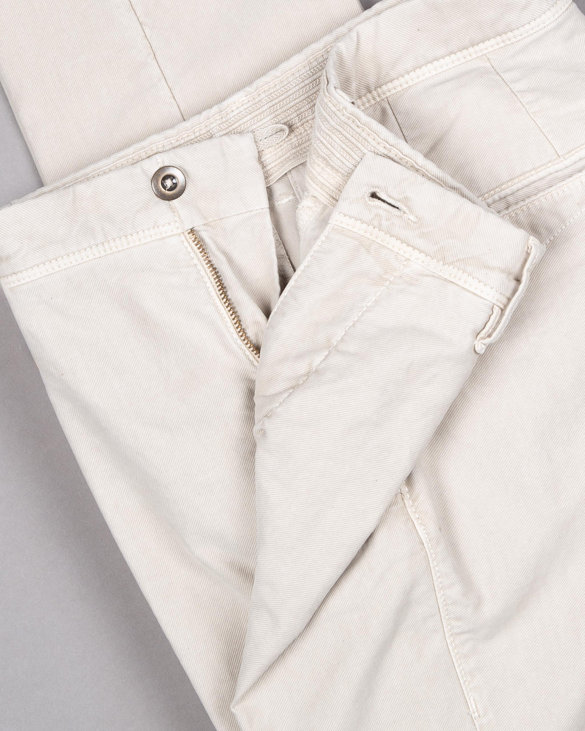 'Slacks' Cotton Trousers