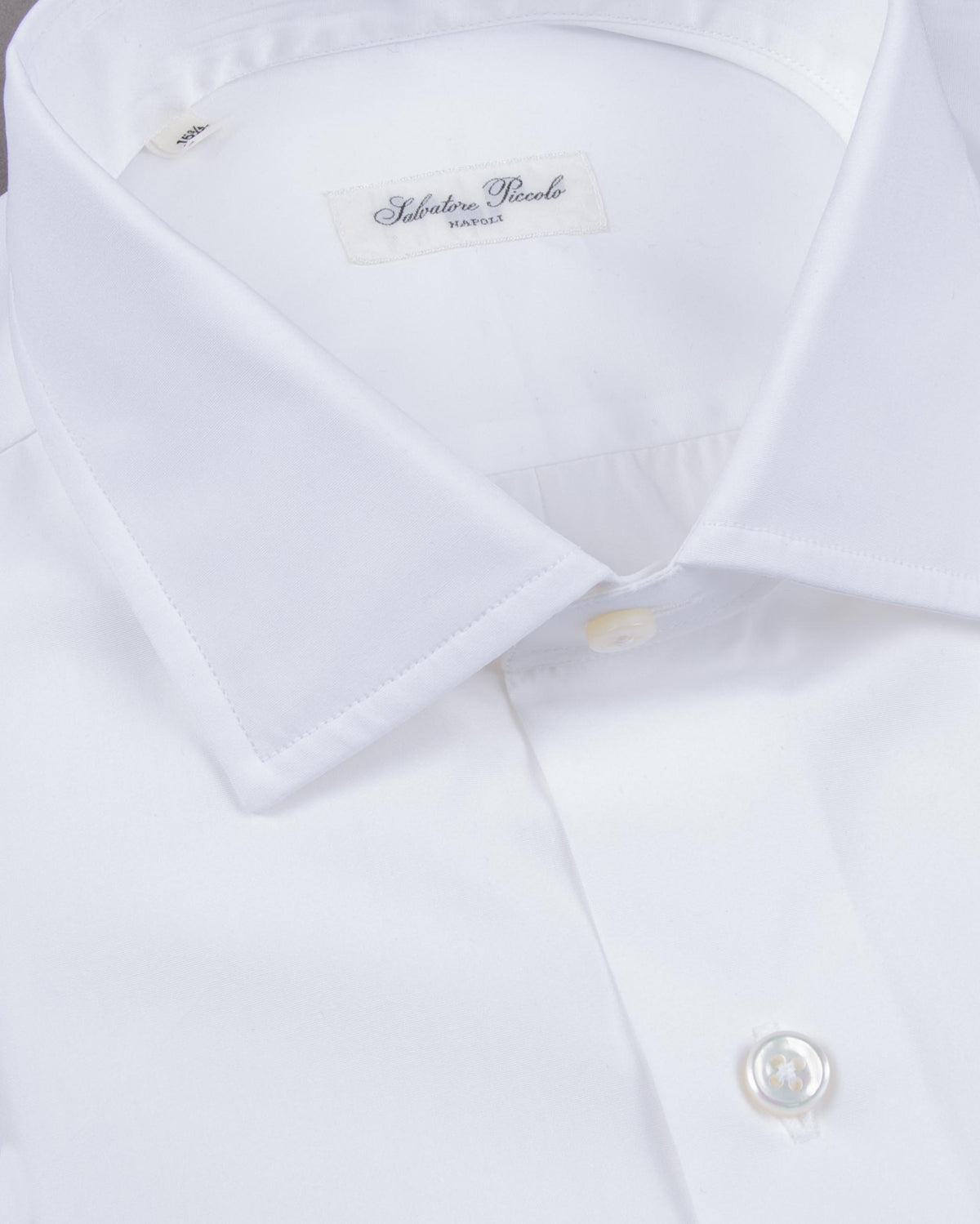 White Popelin Shirt