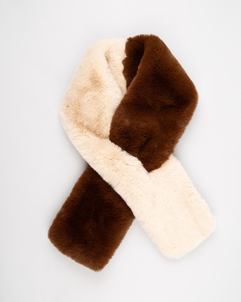 'Fake' Faux fur scarf