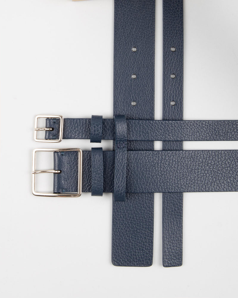 Two in one leather Belt