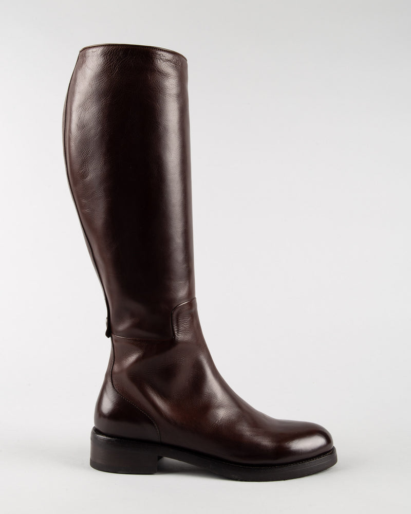 'Amina' High Leather Boot