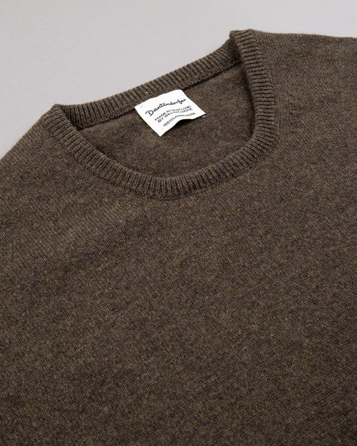 Round-neck Lambswool Pullover