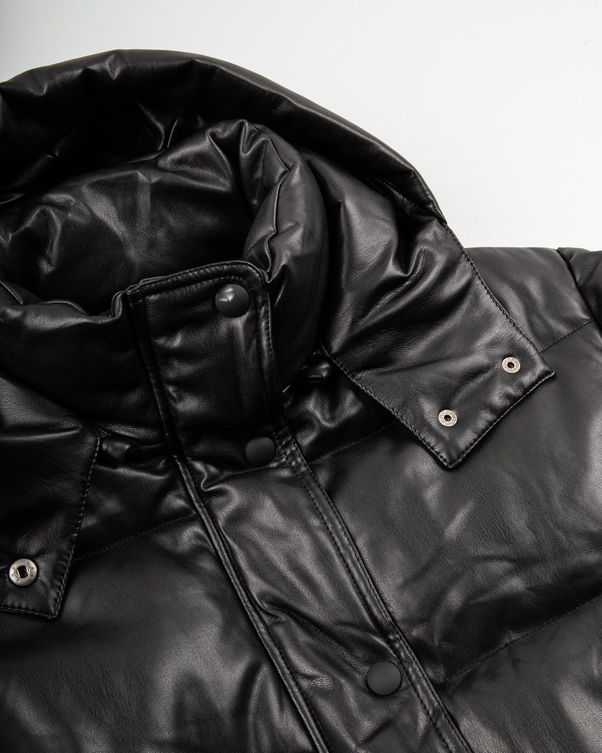 'Selma' Quilted Vegan Leather Jacket
