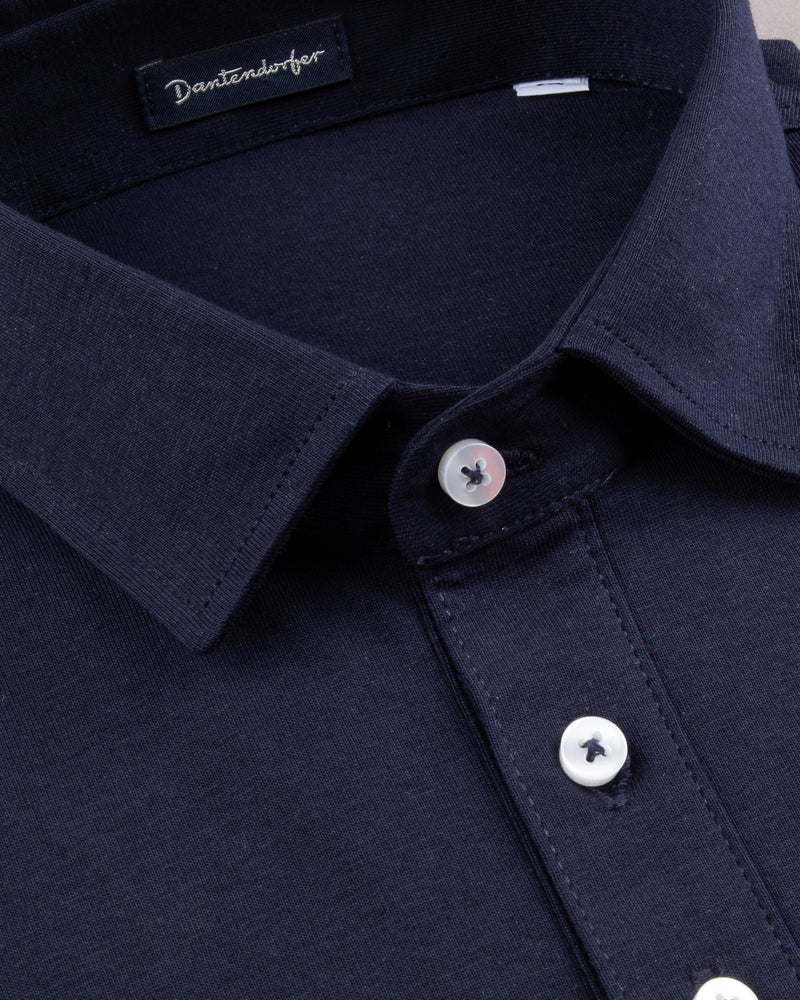 Cotton Long Sleeved Polo