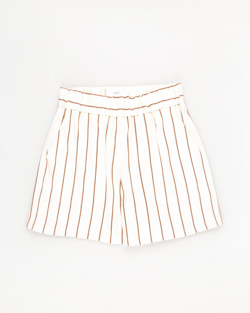 Striped Bermudas