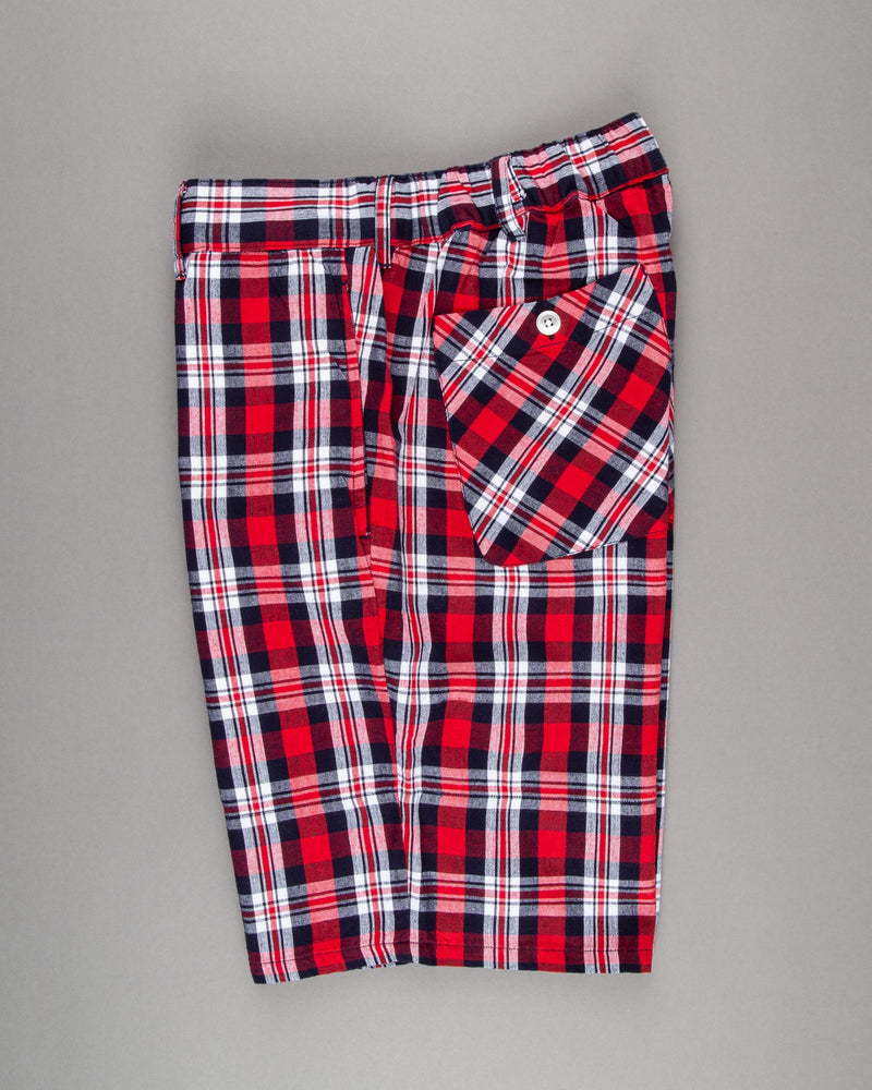 Checked Bermuda Shorts