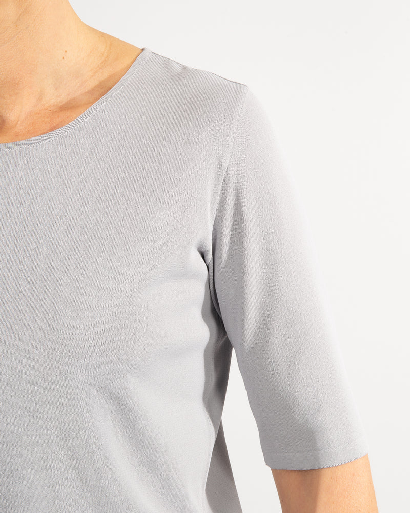 Nino Colombo t-shirt 96% viscose 4% elite in grey