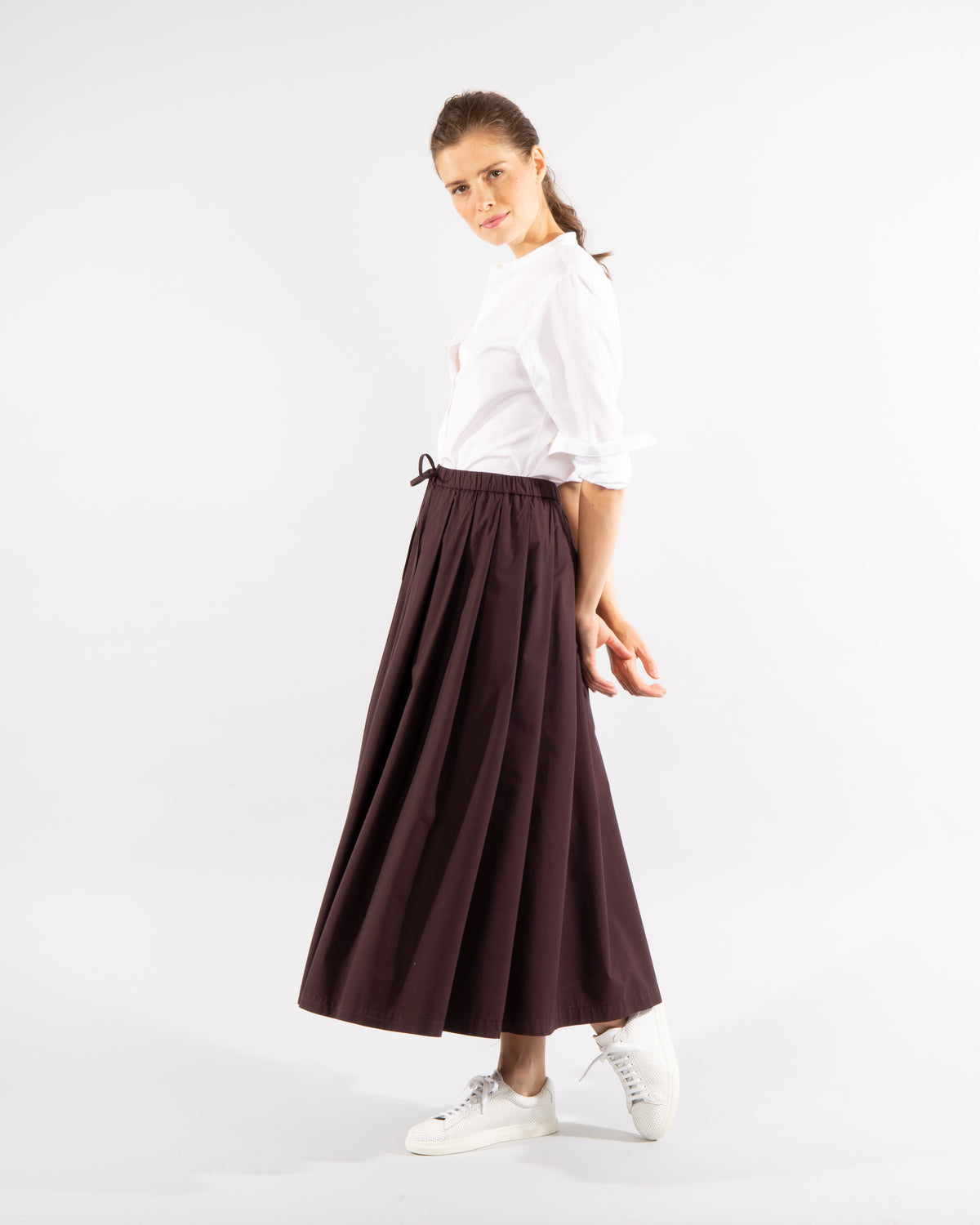 Long Cotton Skirt