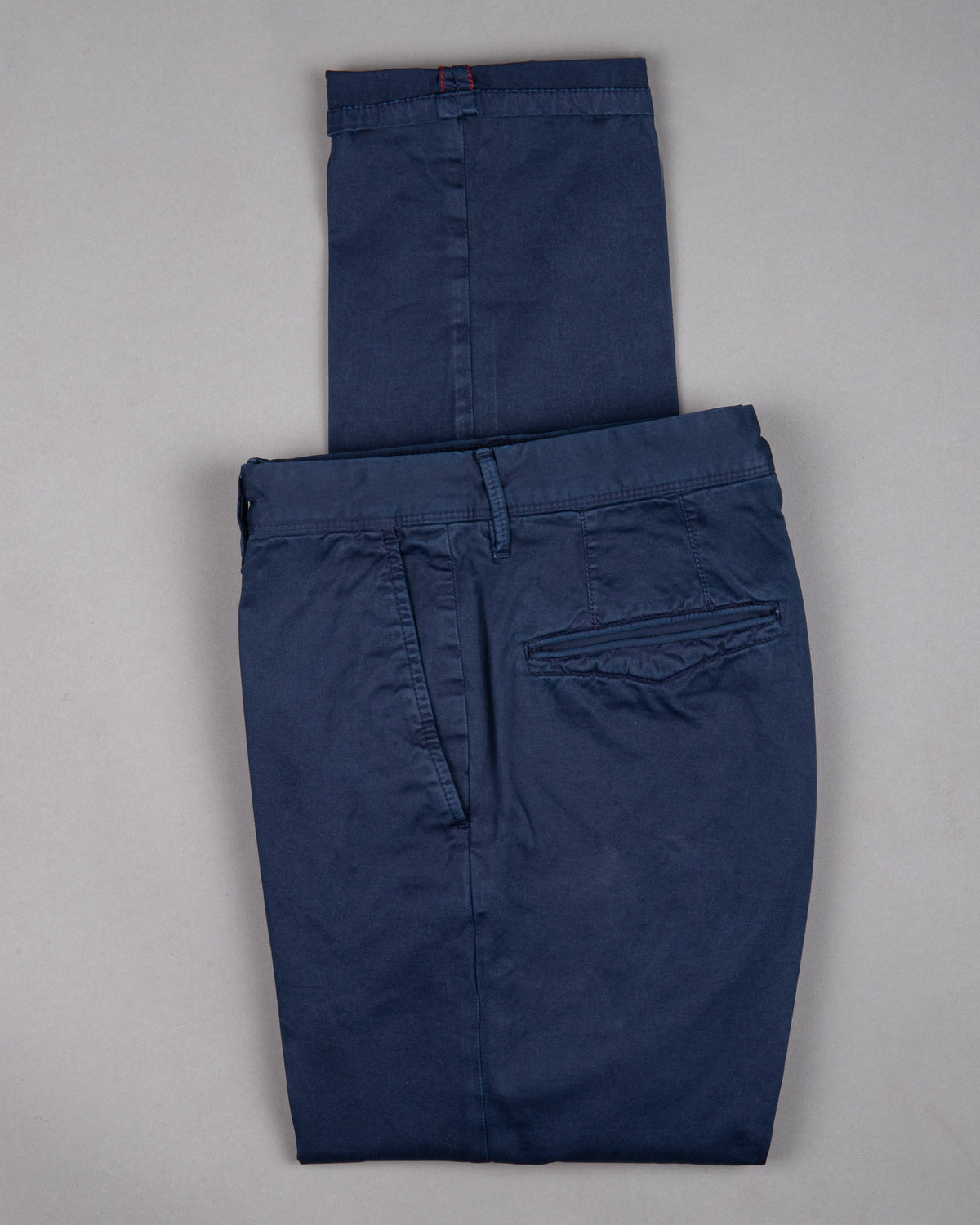 Incotex slacks Chinos Trouser Pants Hose for men in dark blue navy 97% cotton 3% elastane