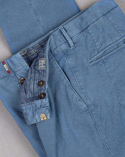 Incotex slacks Chino Trouser Pants Hose for men in blue 98% cotton 2% elastane