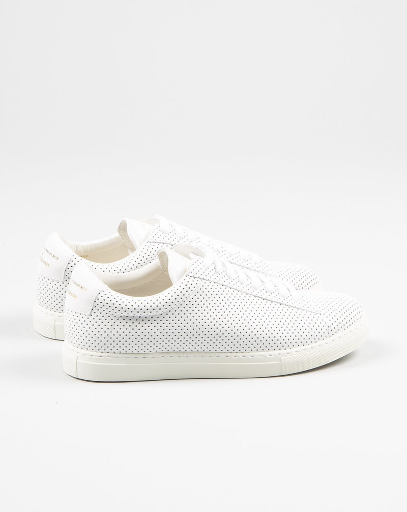 Zespa ZSP4 women female sneaker leather in white