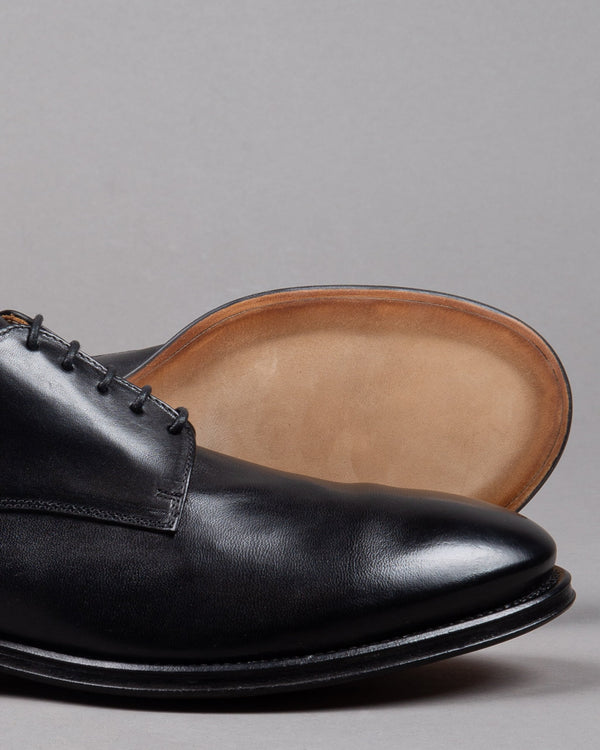 Alberto Fasciani Schnürer Lace up Zen 57024 leather in black made in Italy