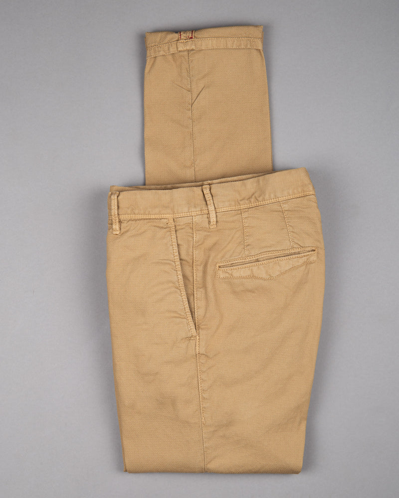 Incotex slacks Chino Trouser Pants Hose for men in brown 98% cotton 2% elastane