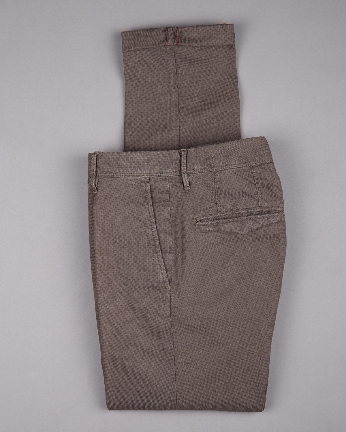 Incotex slacks Chino Trouser Pants Hose for men in brown 51% linen 49% cotton