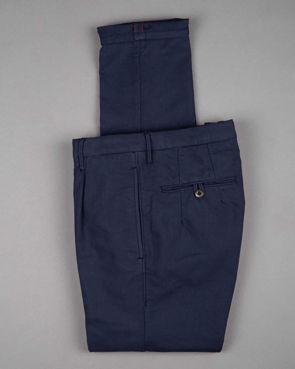 Incotex slacks Chino Trouser Pants Hose for men in dark blue navy 97% cotton 3% elastane