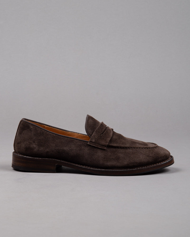 Suede 'College' Loafer
