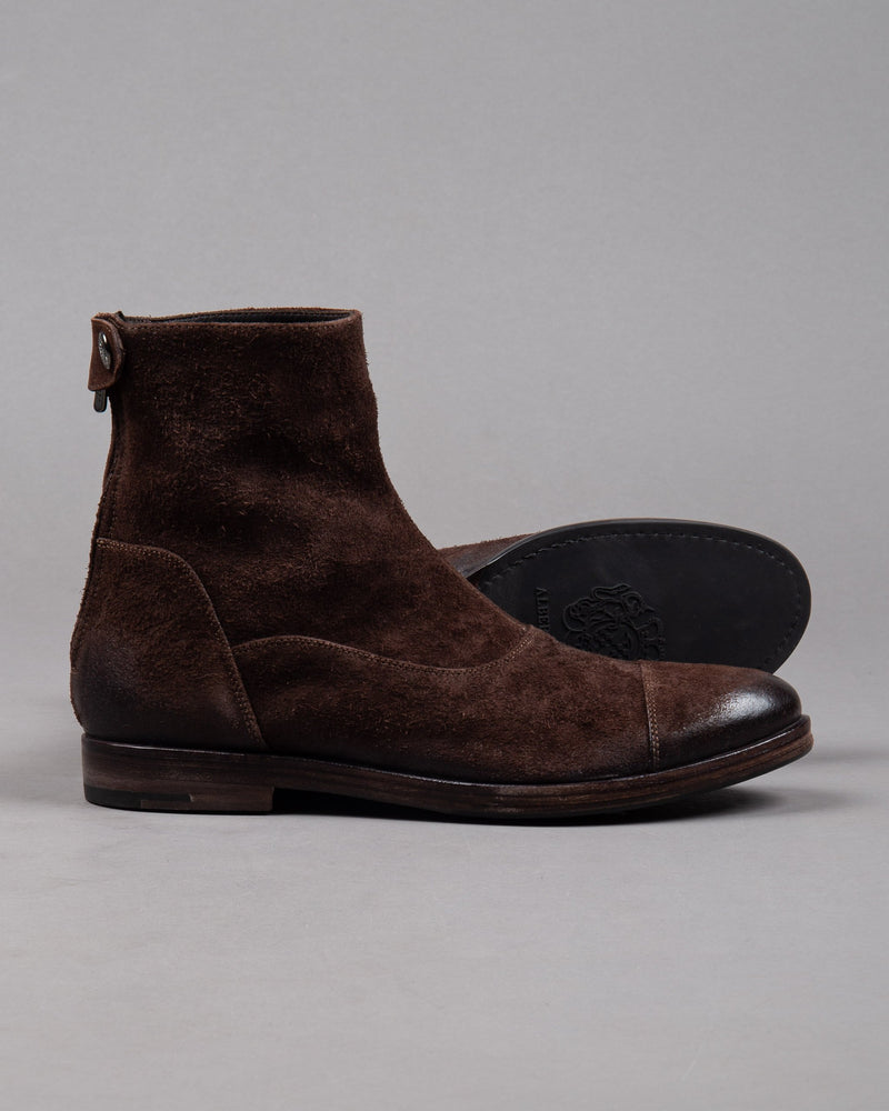 Alberto Fasciani Quincy 10000 suede boot in brown