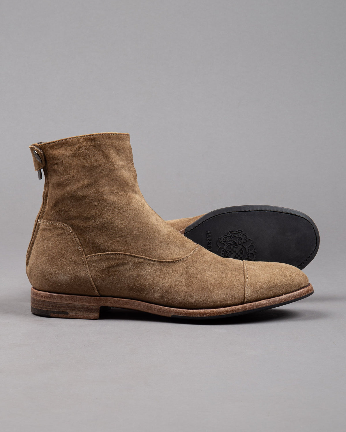 Alberto Fasciani suede leather boot in brown for men