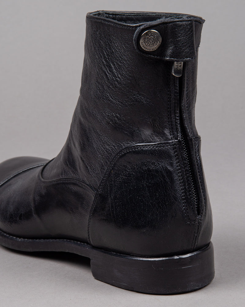 Alberto Fasciani Elias 100000 leather boot in black for men