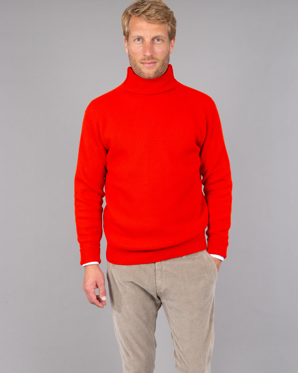 Virgin Wool Turtleneck