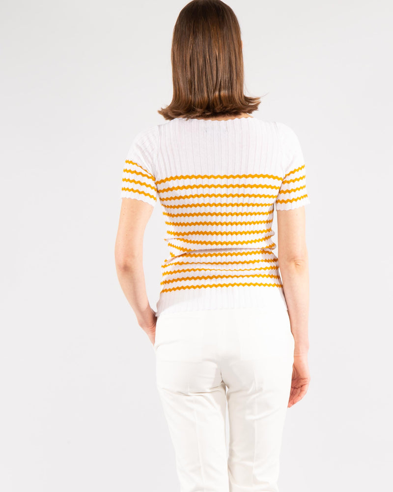 Ribbed Cotton Top