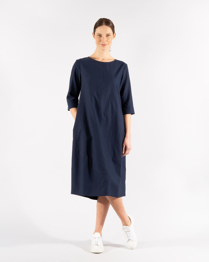 Cotton Blend Dress