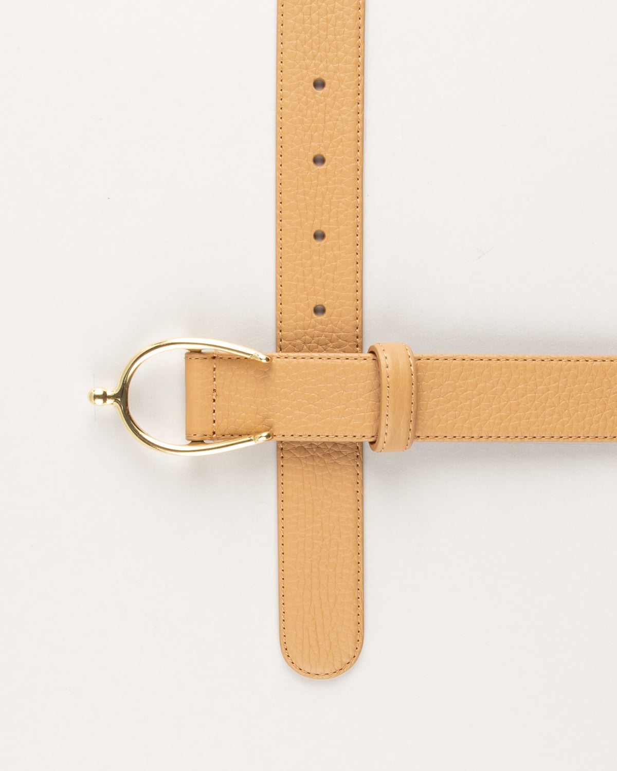 Grained Nubuck Belt