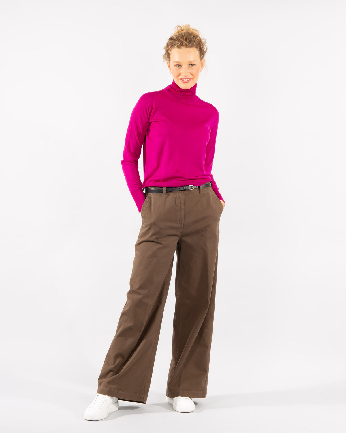 'Gabardine' Stretch Cotton Trouser