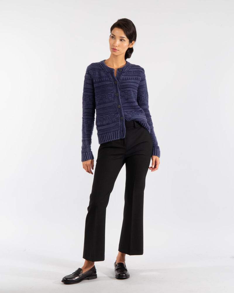 Structured Cashmere Cardigan